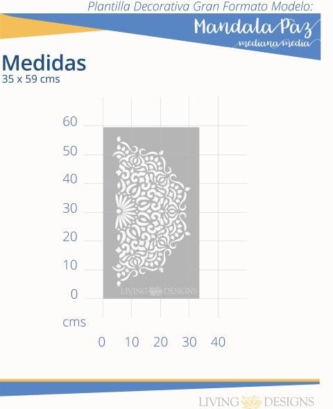 Mandala paz mediana media info