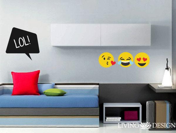 Emojis plantillas stencil