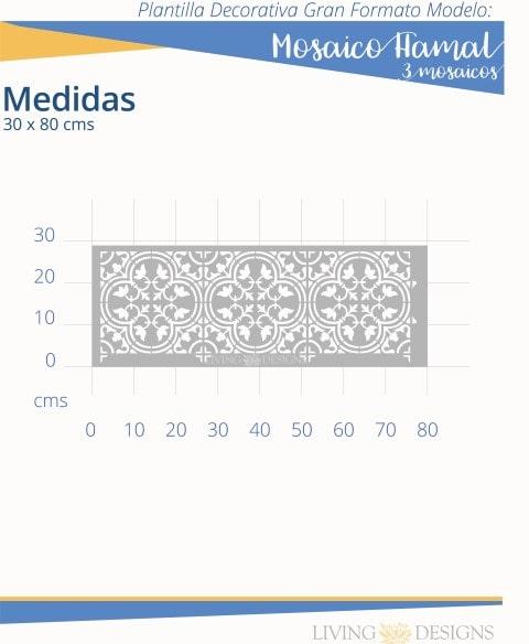 Mosaico Hamal 3 mosaicos