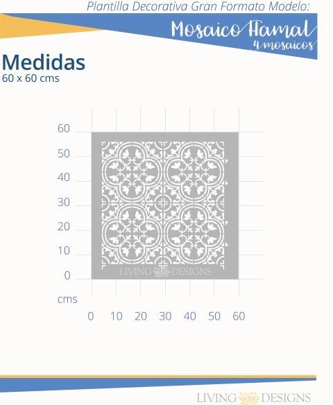 Mosaico Hamal 4 mosaicos