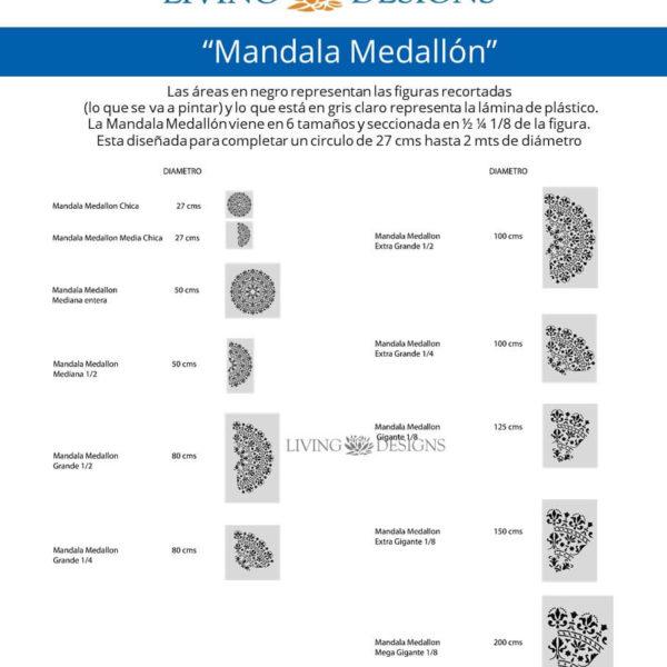 Medidas Mandala Medallon2