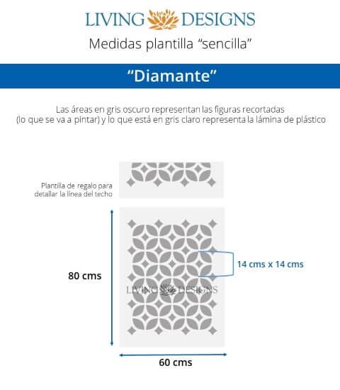 Medidas Diamante (Small)