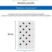 Medidas Balones Americano (Small)