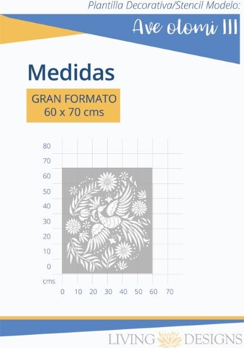 MEDIDAS AVE OTOMI III -min